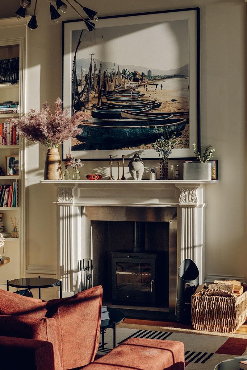 Magnificent apartment with vibrant eclectic interiors in Brighton
